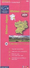 carte routiere ign rhone alpes